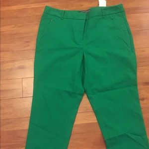 Kelly Green Ankle Pants